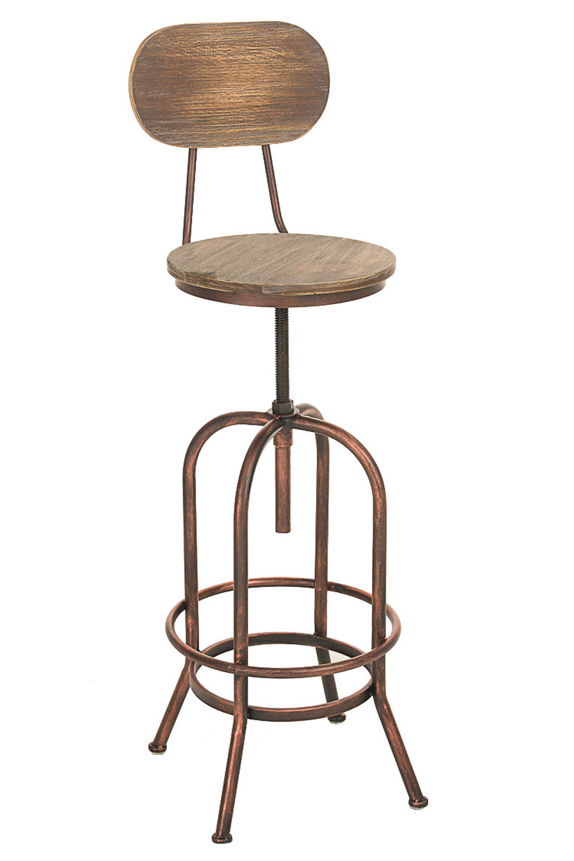 Barhocker Pino, Holz bronze