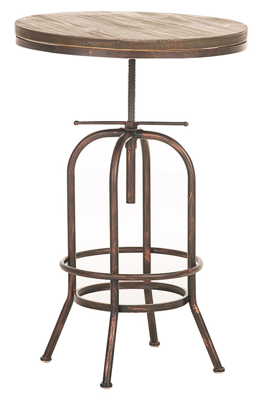 Bartisch Brighton, Holz bronze