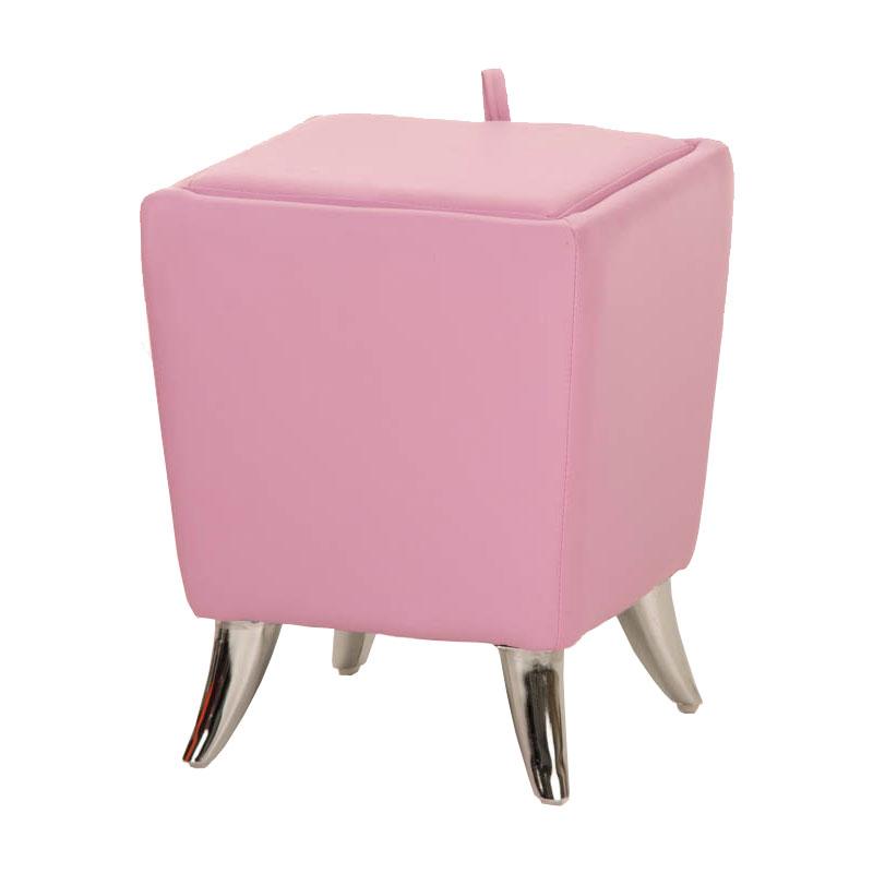 Sitzhocker Roxy pink