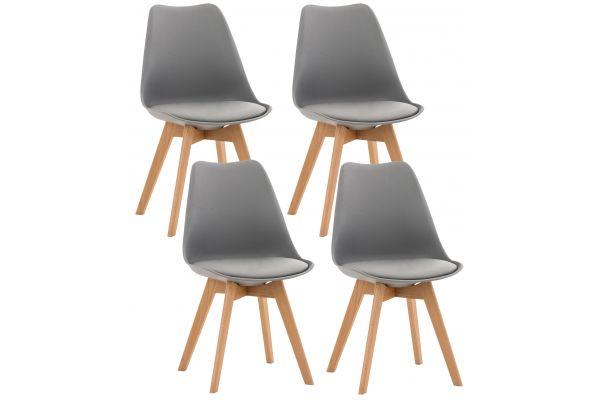 4er Set Stuhl Linares