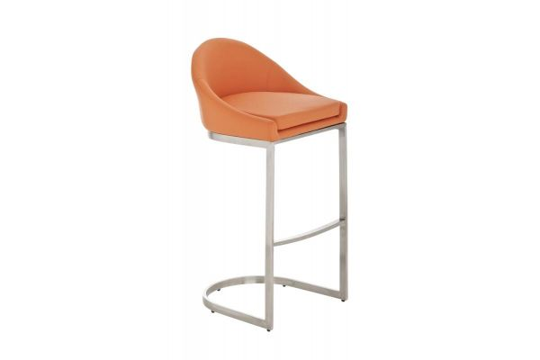 Barhocker Kreta orange
