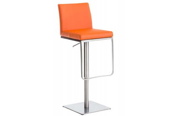 Barhocker Panama E Kunstleder orange