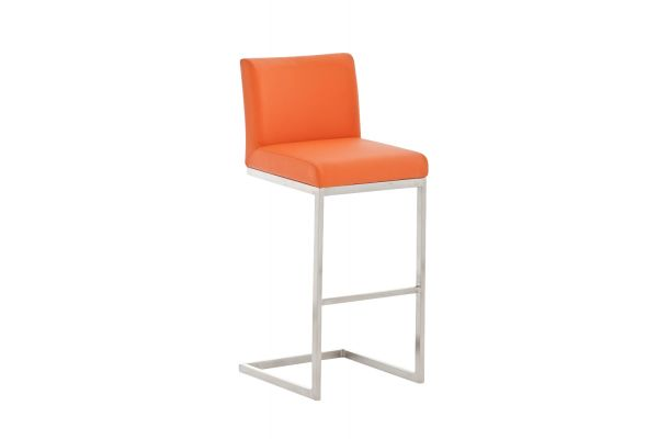 Barhocker Paros orange