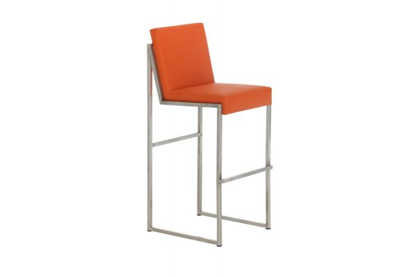 Barhocker Timor E75 orange