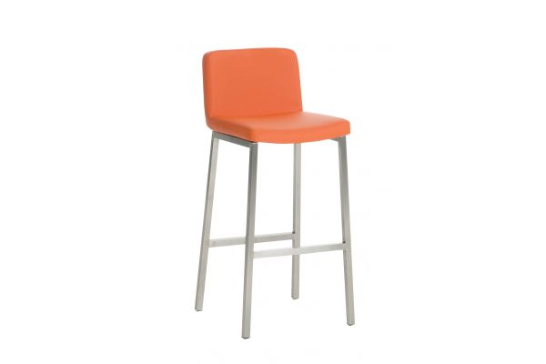 Barhocker Vagos Kunstleder E77 orange