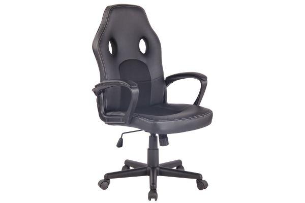 Bürostuhl Elbing schwarz/schwarz