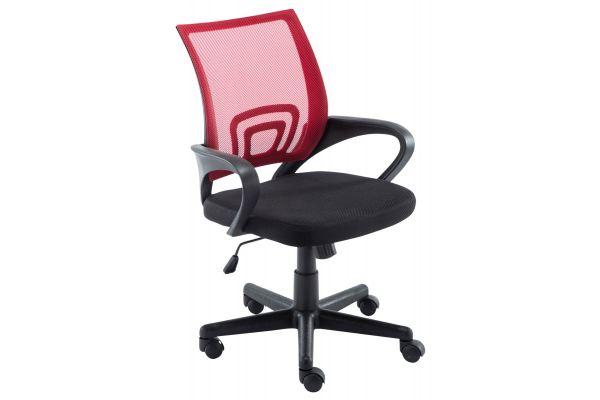 Bürostuhl Genius rot