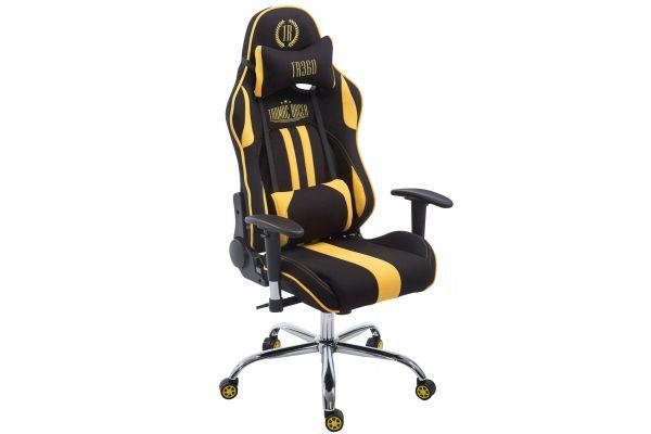 Racing Bürostuhl Limit Stoff schwarz/gelb