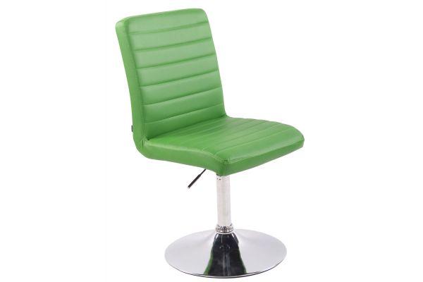 Stuhl Elvas Kunstleder grün