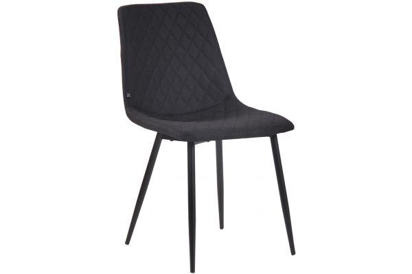Stuhl Telde Stoff schwarz