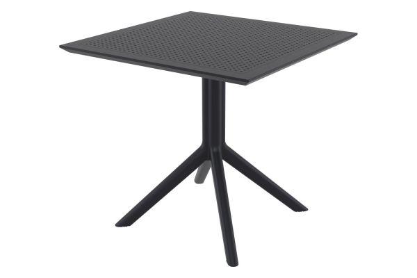 Tisch Sky 80 cm schwarz