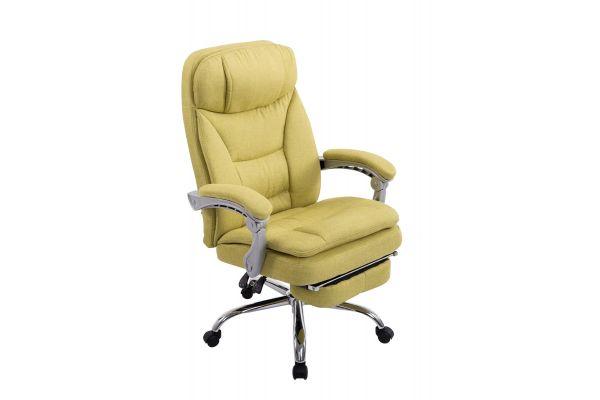XL Bürostuhl Troy Stoff grün