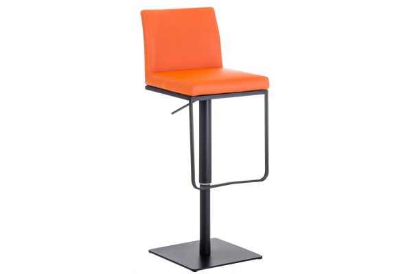 Barhocker Panama B Kunstleder orange