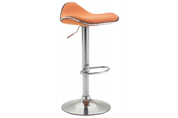 Barhocker Shanghai Stoff orange