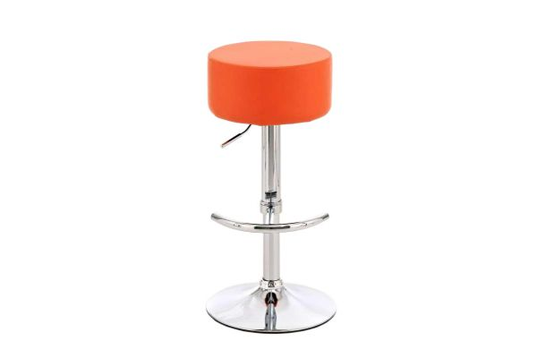 Barhocker Wien orange
